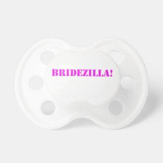 Bridezilla pink pacifiers