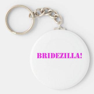 Bridezilla pink key chains