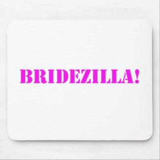 Bridezilla pink mousepad