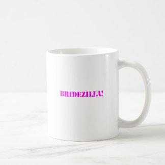 Bridezilla pink coffee mug