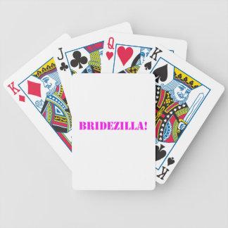 Bridezilla pink bicycle card decks