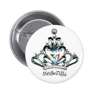 BrideZilla Tiara buttons