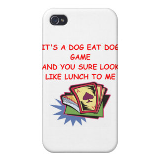 BRIDGE and card game joke Case For iPhone 4