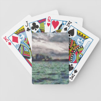Bridge and opera house in sydney card decks