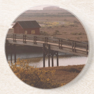 Bridge and Shack Coaster