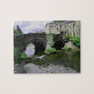 Bridge and stream jigsaw puzzle