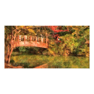 Bridge - Asian Delight Photo Card Template