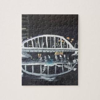 bridge at night puzzle