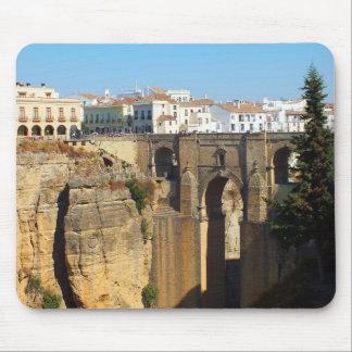 Bridge at Ronda in Spain Mouse Pad