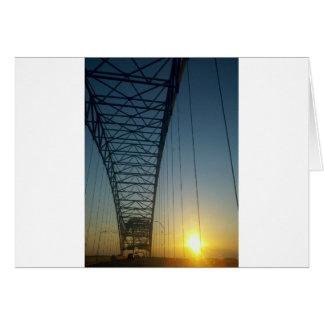 Bridge at Sunset Cards