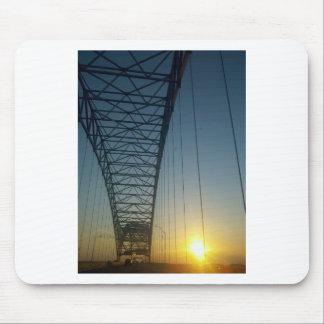 Bridge at Sunset Mousepad