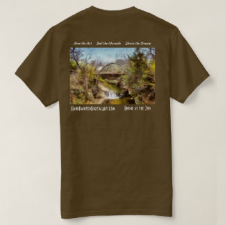 Bridge at the Zoo by Ricky Dean T-Shirt