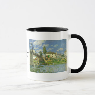 Bridge at Villeneuve la Garenne ~ Alfred Sisley Mug