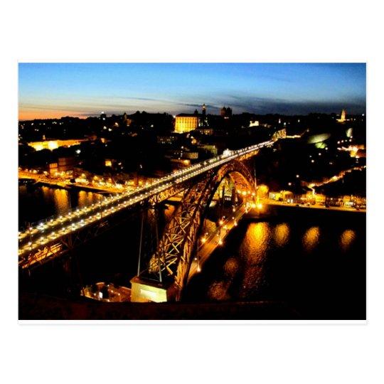 Bridge - bridge Luis I _Porto - Portugal Postcard