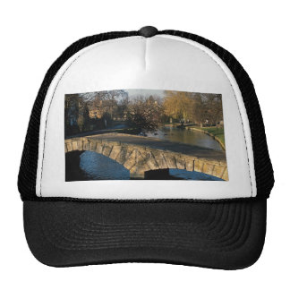 Bridge, Burton on the Water, England Mesh Hats
