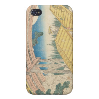 Bridge by Moonlight, from 'Views of Mount iPhone 4 Case