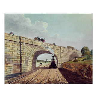 Bridge,from 'Liverpool and Manchester Railway' Poster