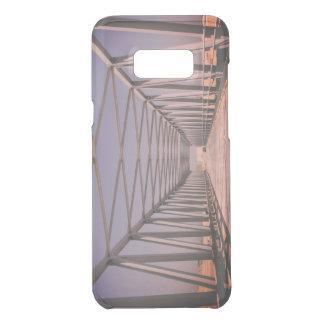 Bridge in Abu Dhabi [Evening remix]: Vintage Photo Uncommon Samsung Galaxy S8 Plus Case