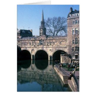 Bridge in Bath Greeting Card