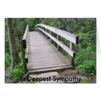 Bridge in Boone NC Card