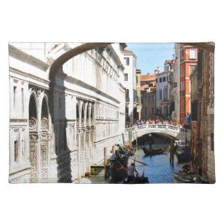 Bridge in Venice, Italy Placemat
