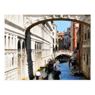 Bridge in Venice, Italy Postcard