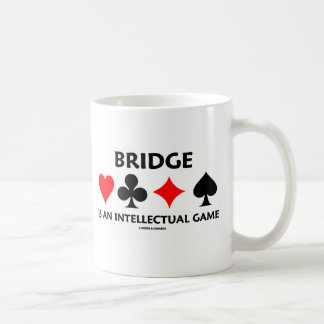 Bridge Is An Intellectual Game (Bridge Attitude) Mug