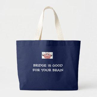 BRIDGE IS GOOD FOR YOUR BRAIN - BAG