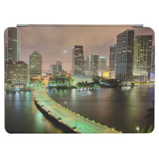 Bridge leads across waterway to downtown Miami iPad Air Cover