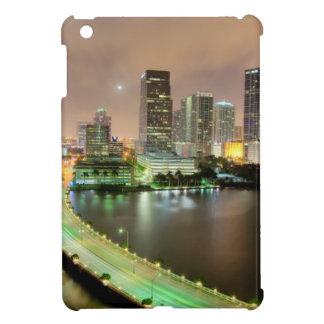 Bridge leads across waterway to downtown Miami iPad Mini Covers