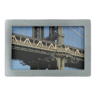 Bridge New York Manhattan Brooklyn Rectangular Belt Buckles