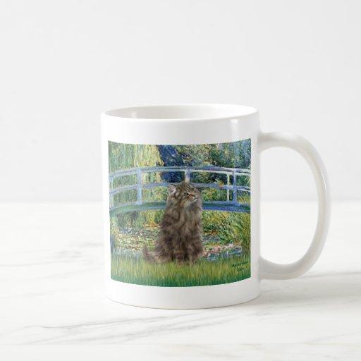 Bridge - Norwegian Forest cat Mug