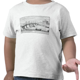 Bridge of Aelius and Hadrian s Mausoleum Castel S Tee Shirts