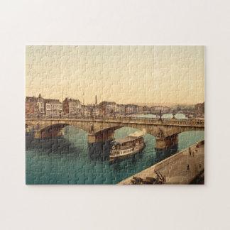 Bridge of Arches, Liège, Belgium Jigsaw Puzzle