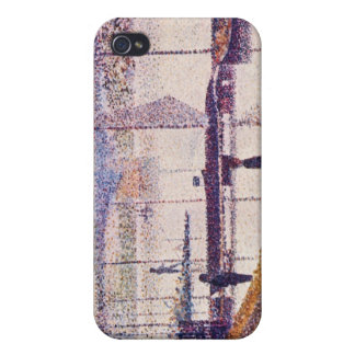Bridge of Courbevoie by Georges Seurat Case For iPhone 4