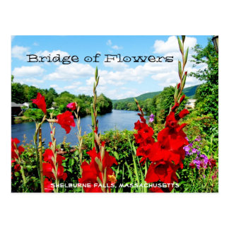 Bridge of Flowers postcard
