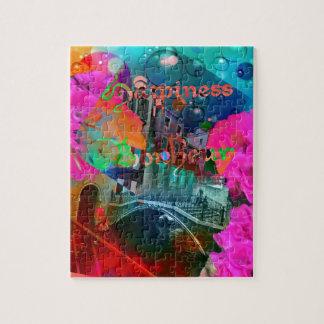 Bridge of happiness jigsaw puzzle