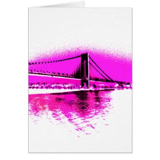 Bridge of Pink Dreams card
