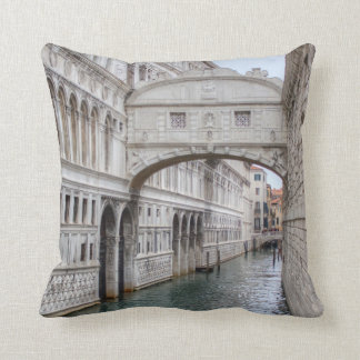 Bridge Of Sighs Venice Italy Cushion