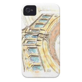 Bridge of Sighs watercolour drawing iPhone 4 Covers