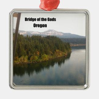 Bridge of the Gods, OR Metal Ornament