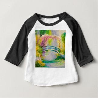 Bridge on the pond baby T-Shirt