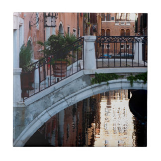 Bridge Over a Canal Tile