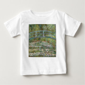 Bridge over a Pond of Water Lilies Baby T-Shirt