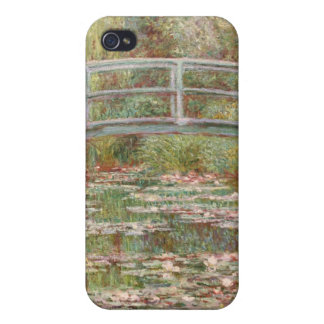 Bridge Over a Pond of Water Lilies iPhone 4 Cover