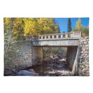 Bridge Over Autumn Waters Placemat