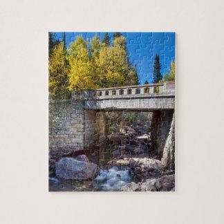 Bridge Over Autumn Waters Puzzle