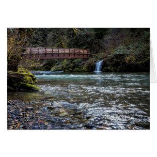 Bridge Over Hackleman Creek Card