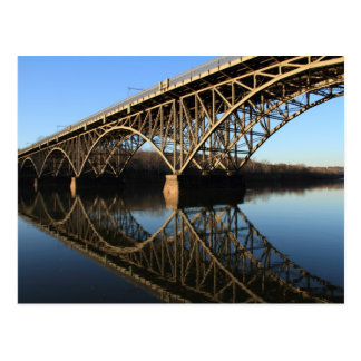 Bridge Over Schuylkill River Postcard