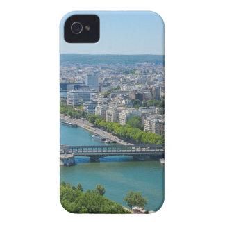 Bridge over the river Seine in Paris, France iPhone 4 Case-Mate Cases